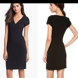 DVF Norma black dress